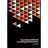 Quantitative Methods for Managerial Decisions, C. M. Paik, 0070480869