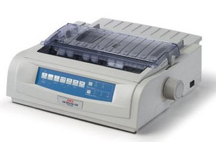 (OKIDATA OKI 420 Okidata ml420 Dot Matrix Printer 120v Std Carriage Parallel)
