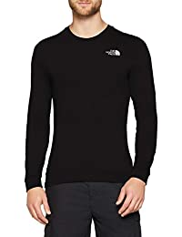 THE NORTH FACE Men's Simple Dome Longsleeved T-Shirt, Black