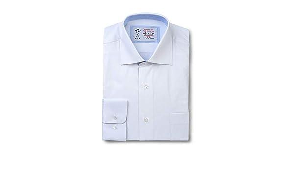 Camisa de Vestir Manga Larga, de Color Blanco. - 5_XL, Blanco ...
