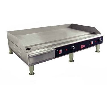 Grindmaster-Cecilware EL1636 Medium Duty Steel and Stainless Steel Electric Griddles, 36-Inch