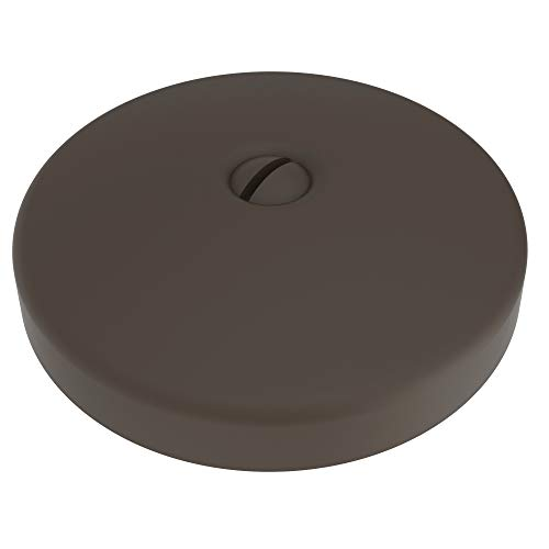 Brasstech 265/10B Single-Hole Faceplate For Waste and Overflow, Oil Rubbed Bronze (Brass 10b Satin)