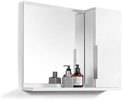 Domtech Bathroom Mirror Cabinet With Shelves Bathroom Mirror White Mirror Cabinet R Amazon De Kuche Haushalt