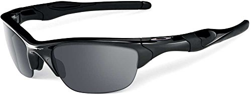 Oakley Half Jacket 2.0 Sunglasses-Polished Black/Black - Polarized Flak Jacket 2.0