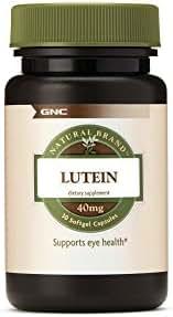 GNC Natural Brand Lutein