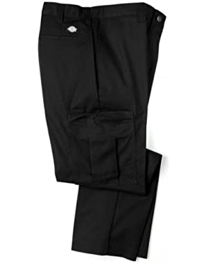 Mens 2112372 Cargo Pant-UNIQUE INSEAMS-BLACK