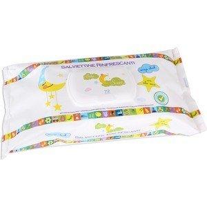 72 unidades Natural Care 57918 Toallita baby sweet con tapa