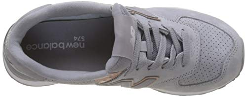 Mujer para Wl574v2 New Azul Zapatillas Balance 1Ix0wqK4Bw