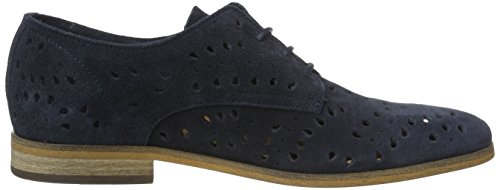 Tommy Hilfiger G1385enny 14b, Zapatos de Cordones Oxford para Mujer Azul (Midnight 403)