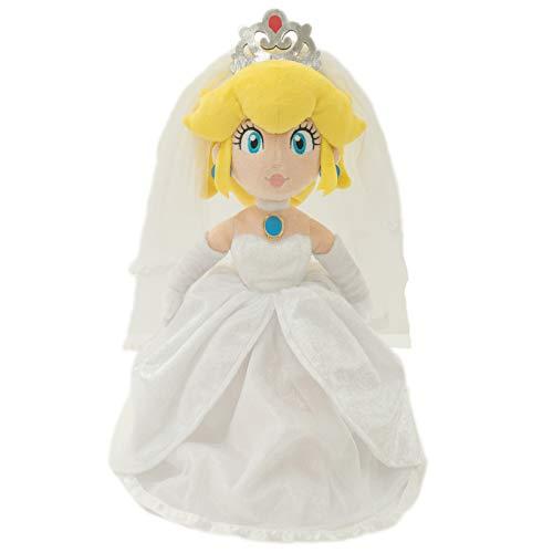 (Little Buddy 1692 Super Mario Odyssey: Peach Bride (Wedding Style) Plush, 13.5
