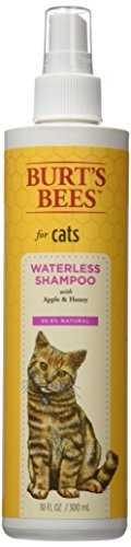 Burt's Bees Waterless Spray Shampoo Dry Shampoo for Cats, 10 Ounces