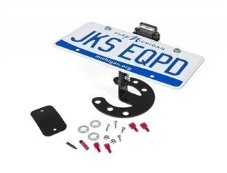JKS 8211 Spare Tire Plate Mount