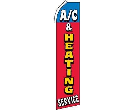 (K's Novelties A/C AC & Heating Services Super Flag HVAC)