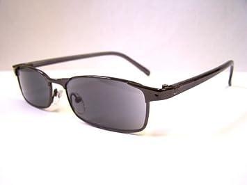 0ba6b075a9b Designer Tinted READING GLASSES +2.5 Ready Readers BLACK Prescription  Sunglasses Metal Spectacles 2.50 Eyeglasses
