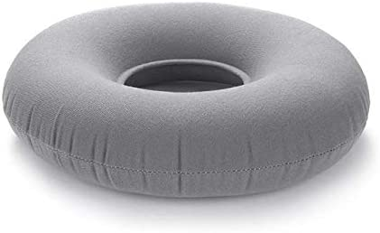 WJDHSG Kissen,1PC Air Inflatable Sitzkissenringförmig Anti-Dekubitus Aufblasbare Stuhlmatte Kissenmassage Anti Dekubitus Pad Pad, rot
