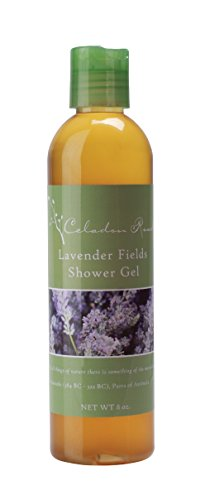 Celadon Road Lavender Shower Gel - Organic Ingredients and Essential Oils - Sulfate and Paraben Free - Best All Natural Shower Gel - 8 oz - Made in USA