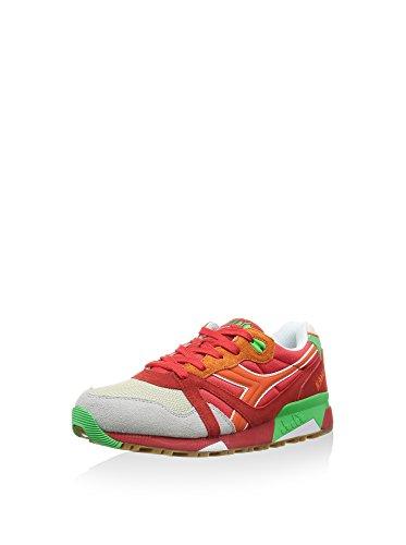 N9000 5 Rosso verde Sneaker 44 Eu Uk 10 Nyl Diadora Zq5wt040