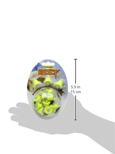Champ Bolt - Stollen für Fußballschuhe 12 Stück - Gelb 405232