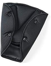 Kids Car Seat Belt Adjuster Car Seat Belt Triangle Safety Clip Buckle Universal Car Safety Belt Holder Child Kids Car Seat Cover Protect Baby Adjuster - Black