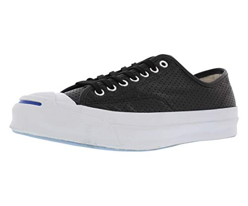 Converse Jack Purcell Signature Ox Casual Unisex Shoes Size Men's 8/Women's 9.5 Black (Purcell Converse Jack Signature)