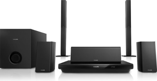 Philips HTB3550G 5.1 Home Entertainment-System (3D Blu-ray, Bluetooth, NFC) schwarz