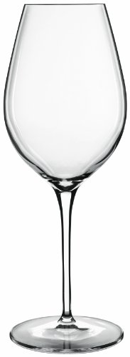 Luigi Bormioli 09643/06 Vinoteque 16.5 oz White Wine Glasses, Set of 6, Clear