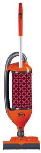 SEBO 9803AM Felix 1 Premium Fun Upright Vacuum with Parquet, Orange/Purple - Corded