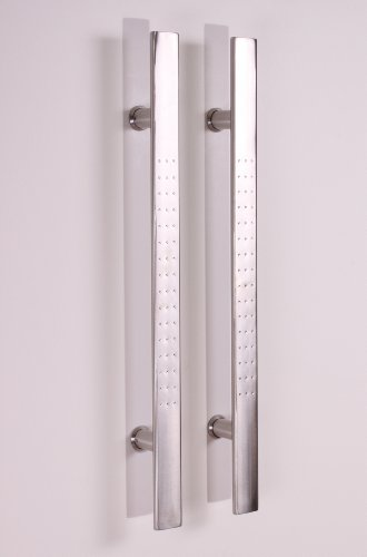 Pull Push 24 Handles For Entrance Entry Front Door Interior And Exterior Satin Finish