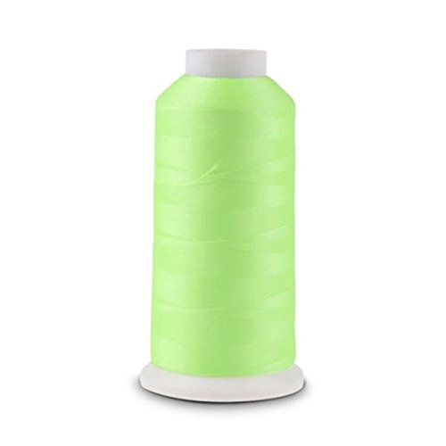 Tinksky 3000 Yards Spool Luminous Glow In The Dark Machine Embroidery Sewing Thread (Green) 4337016673