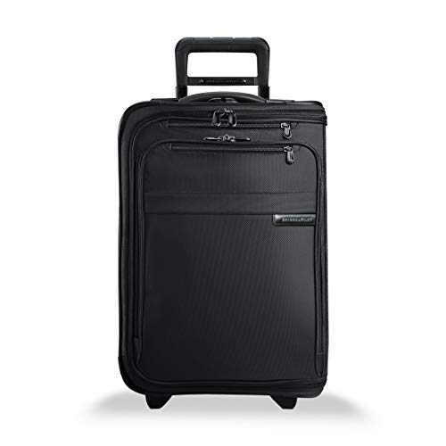 Briggs & Riley Baseline Domestic Carry-On Upright Garment Bag, Black, Small -