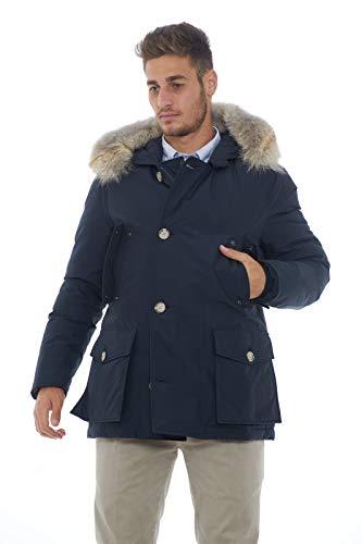 Arctic Nero Anorak Dkn Woolrich Blu w8z4wq