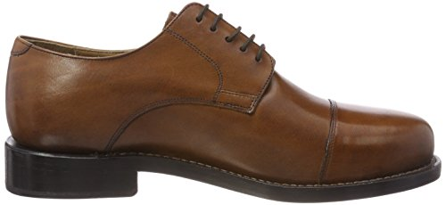 J.briggs Goodyear Mens Oxford Scarpe Stringate Whisky Marrone