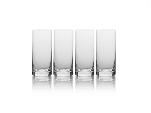 Mikasa 5193454 16.75 oz, Clear Julie Highball Drinking Glass, 16.75-Ounce, Set of 4]()