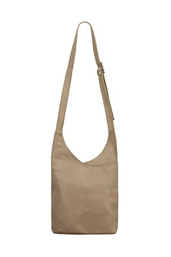 Italian Body Para De Bandolera Las Italiano Suave 100 Shoulder Mujeres Bag Bandolera Regalo Jinne Leather Cross Di Bag Women's Gift Cuero Las Di For Soft Montte Montte Taupe Luz Women Taupe Light De 100 Jinne Mujeres CtqHxn