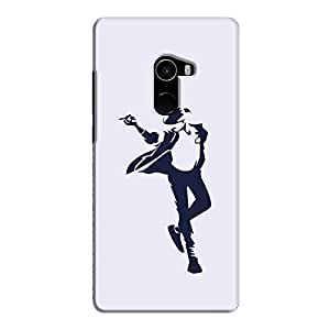Cover It Up - Moonwalk Print Mi Mix 2 Hard Case
