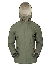 Mountain Warehouse Iona Womens Softshell Jacket - Ladies Spring Coat Khaki 8
