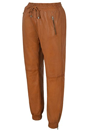 3040 Napa Zip Para Jogging Tan Pantalones Sweat De Real Hombre Track Bottom Pant Cuero wYtwxOqPvU