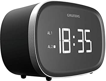 Grundig SCN340 - Radio (Reloj, Digital, Am,FM, 87,5-108 MHz, 2 W, LED): Amazon.es: Electrónica