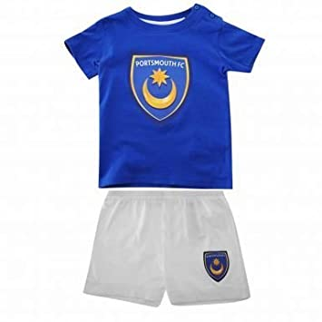 c2d884263d5 Portsmouth FC Baby Football Kit  Amazon.co.uk  Sports   Outdoors