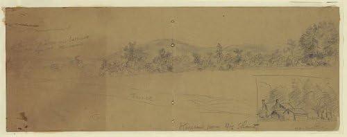 INFINITE PHOTOGRAPHS Photo: Battle of Kennesaw Mountain, Georgia, Alfred Rudolph Waud, American Civil War Size: 8x10 (a
