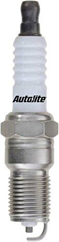 (Set (8pcs) Autolite Platinum Core Spark Plugs Resistor Tapered Seat 14mm x 1.25 Thread)