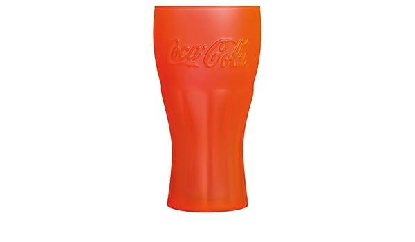 Luminarc 8010708 Coca Cola Genuine Techno - Juego de 6 Vasos Altos Soda Copa de cálido Naranja 37 Cl: Amazon.es: Hogar