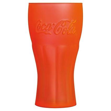 Luminarc 8010708 Coca Cola Genuine Techno – Juego de 6 Vasos Altos Soda Copa de cálido