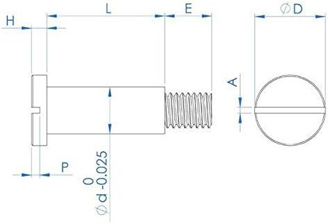 Screw Pan Head Slotted Black  M6 X 25mm Pack of 30 Machine Chem Steel 1 inch
