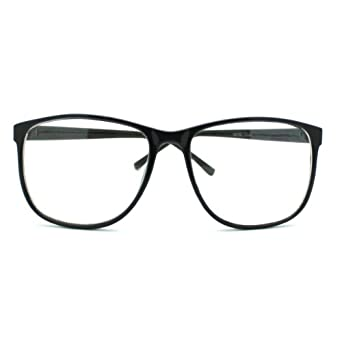 Amazon.com: MJ Boutiques Black Large Nerdy Thin Plastic ...