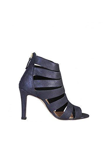 Pierre Cardin ELEONORE Sandalia De Gladiador Para Mujer Cierre Posterior Tacón: 9.5 cm Azul