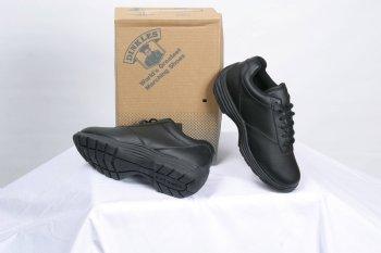 Dinkles Edge Women's Marching Band Shoes (Medium 7, Black)