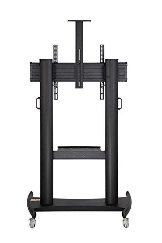 north bayou mobile tv stand heavy duty tv cart for massive lcd led oled flat panel plasma tv 60. Black Bedroom Furniture Sets. Home Design Ideas