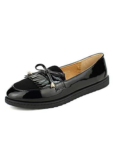 Derbies Me Noires Noir Femme Chaussures Cinks Cendriyon UdqStU