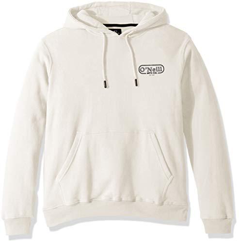 (O'Neill Men's Classic Pullover Sweatshirt Hoodie, Combos Egg Shell XL)